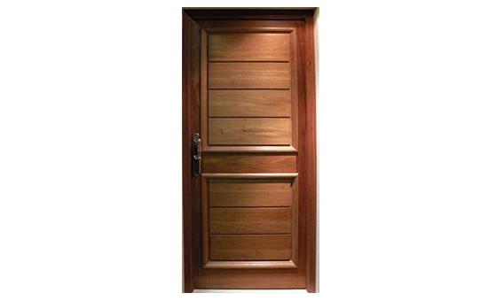 Purtas de madera puerta de entrada abatible de madera for Puertas dobles de madera modernas